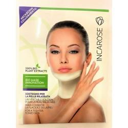 Incarose - Bio Mask Cou et menton . Soutien de la peau relâchée (1 masque)